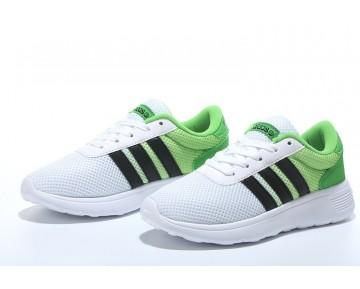 2016 Adidas Neo Damen Herren Running Schuhe Weiß/Schwarz/Spannung Grün