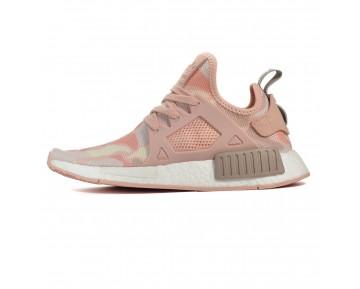 Adidas NMD XR1 Pink Duck Camo BA7753 Dampf Grau/Eis Lila/Aus Weiß