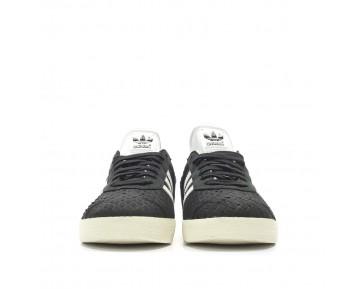 Adidas Gazelle W Leder Schlange Kern Schwarz/Kristall Weiß/Kreide Weiß S76025