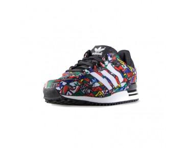 Adidas Originals ZX 700 Damen Herren Multi Farbe Schwarz/Weiß G27067