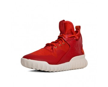 Adidas Tubular X Chinese New Year Schuhe Leistung Rot/Rot/Gold Metallic AQ2548