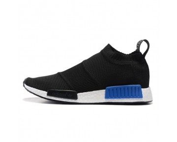 Adidas NMD City Socke Primeknit Kern Schwarz/üppigen Blau/Weiß S79152