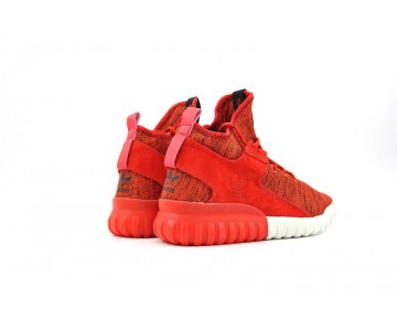 Adidas Originals Tubular X Primeknit Orange Rot/Weiß AQ4548